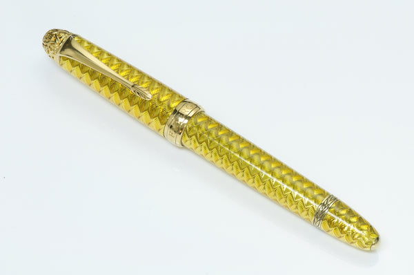 Michel Perchin Faberge Enamel Ball Pen