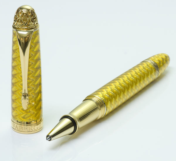 Faberge Guilloché Enamel Ball Pen