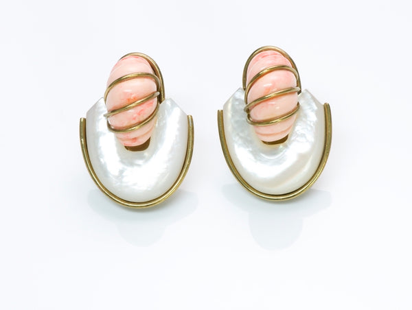 Fabrice Paris Mother of Pearl Earrings
