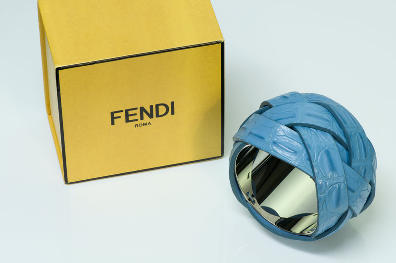 Fendi Crocodile Bangle