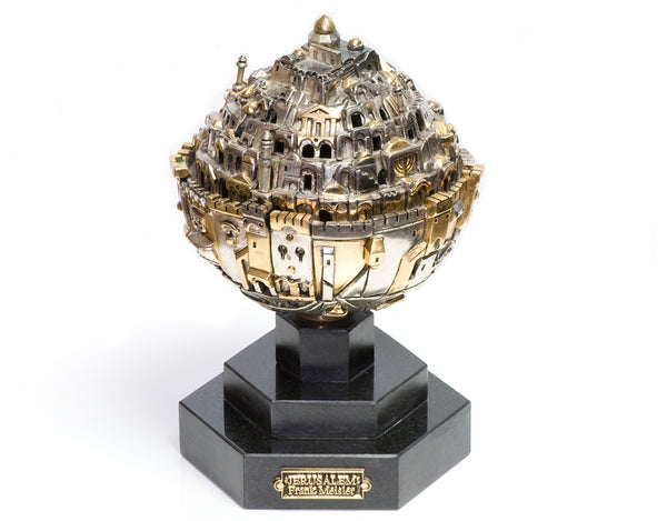 Frank Meisler Jerusalem Sphere Limited Edition