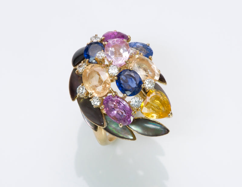 Fred Paris Sapphire Ring