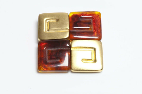GIVENCHY Paris Logo Brooch