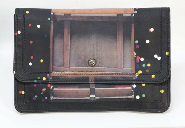 GIVENCHY Confetti Leather Women's Flap Clutch Bag