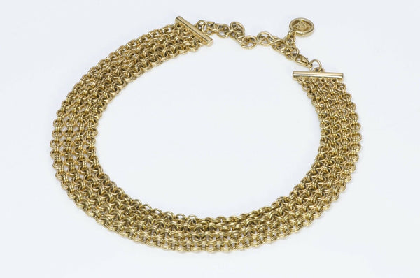 Givenchy Paris Chain Collar Necklace