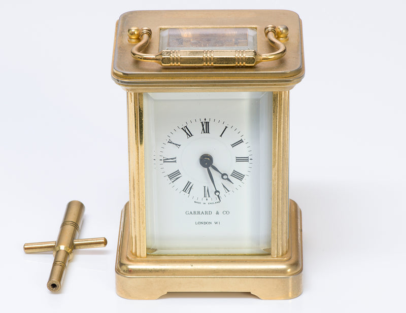Garrard & Co Carriage Clock