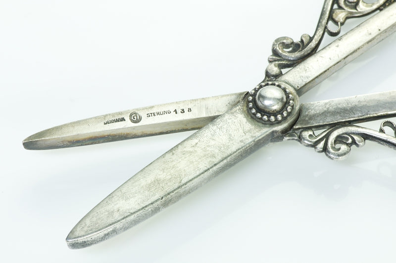 Georg Jensen Silver Grape Shears No. 138