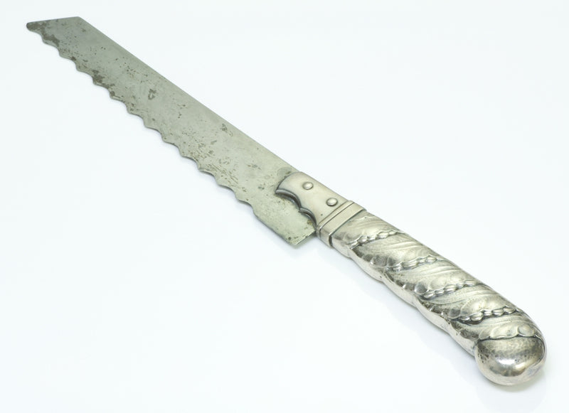 Early Georg Jensen Silver Bread Knife
