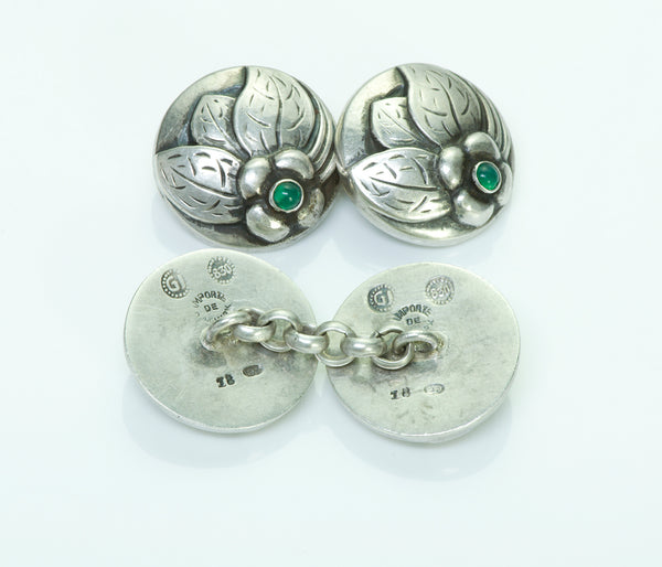 Georg Jensen Silver Cufflinks No.18
