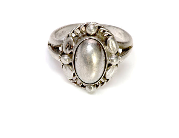 Georg Jensen Vintage Sterling Silver Ring