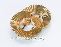 Tiffany & Co. by George Schuler Gold Swirl Clip