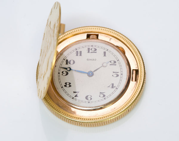 Ghiso 20$ Dollar Gold Coin Watch