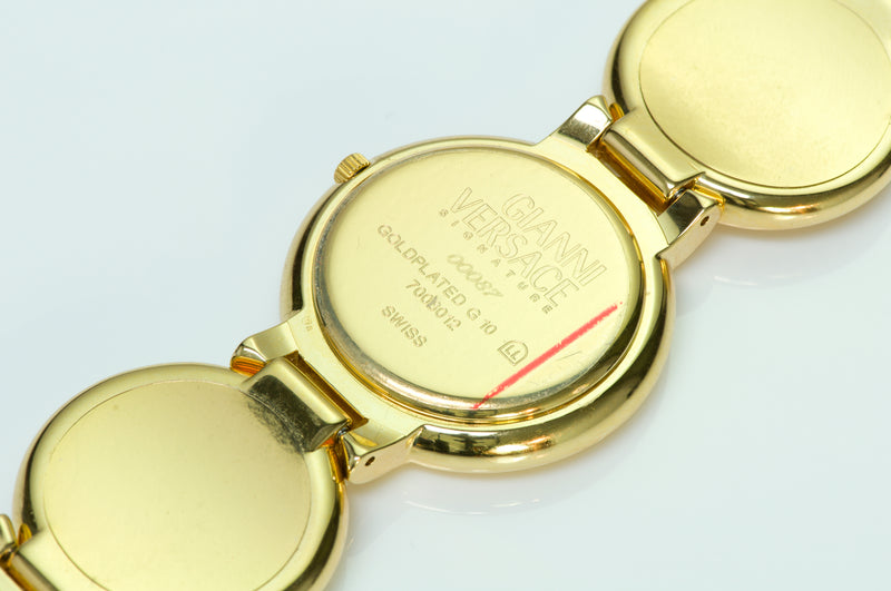 Gianni Versace Medusa Coin Watch