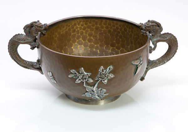 Gorham Mixed Metal Silver Dragon Cup/Bowl