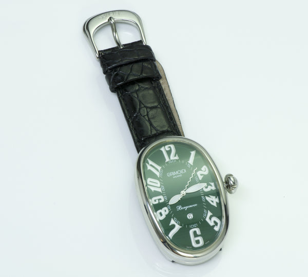 Grimoldi Milano Borgonovo Green Automatic Watch