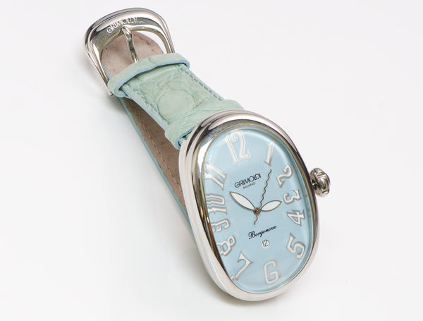 Grimoldi Milano Borgonovo Blue Dial Automatic Watch