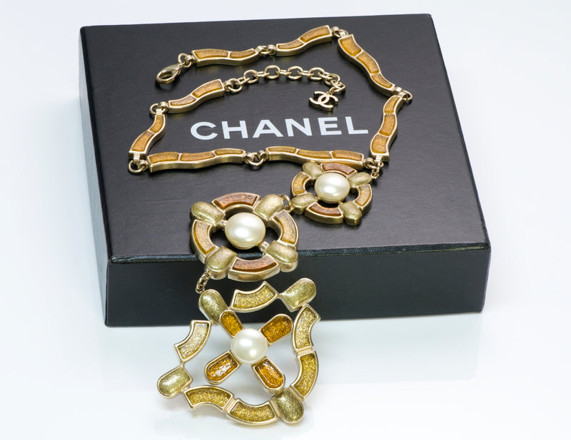 Chanel Gripoix Pearl Necklace