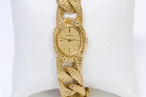 Gübelin George L'Enfant Gold Bracelet Watch