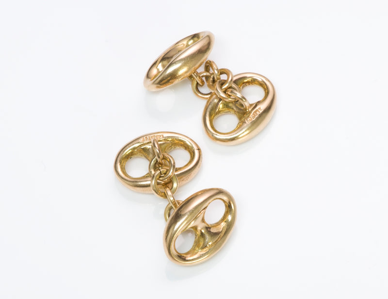 Gucci Gold Cufflinks