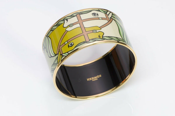 HERMES Equestrian Bangle Bracelet
