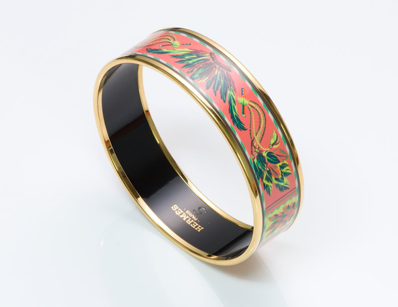 Hermès Brazil Enamel Bangle
