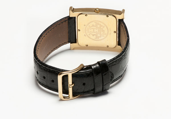 Hermes H Gold Watch HH1.785