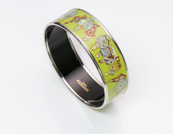 Hermès Enamel Bangle Bracelet 1