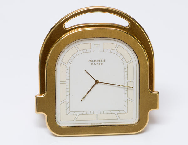 Hermès Stirrup Alarm Travel Clock