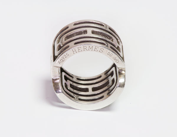 Hermès Sterling Silver Ring