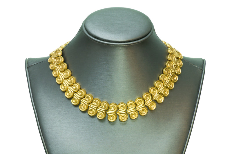 Ilias Lalaounis Gold Necklace