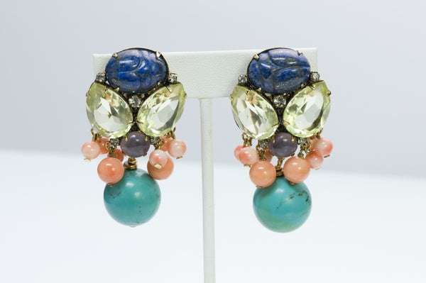 Iradj Moini Scarab Earrings