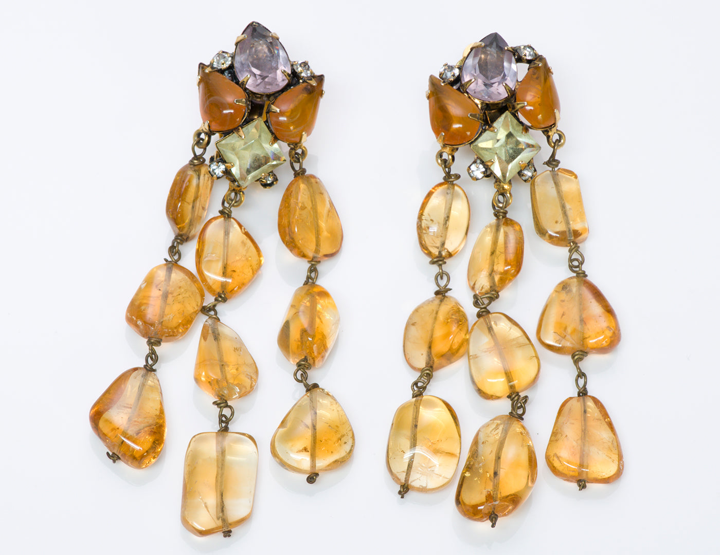 Iradj Moini Citrine Drop Earrings