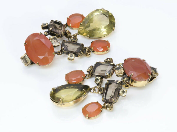 Iradj Moini Semiprecious Citrine Drop Earrings
