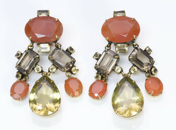 Iradj Moini Semiprecious Stones Citrine Drop Earrings