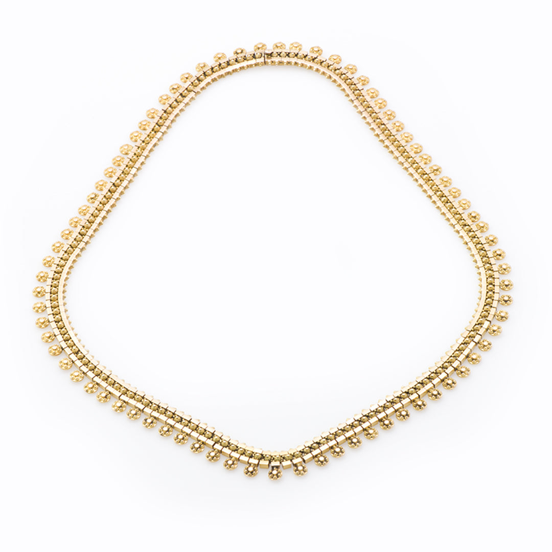 Victorian Gold Necklace