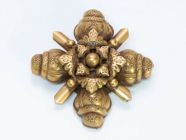 JOSEFF of Hollywood Etruscan Style Brooch