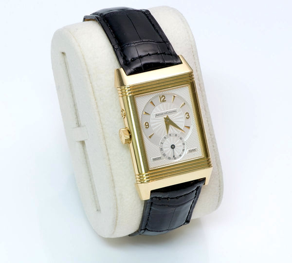 Jaeger-LeCoultre Reverso Duo Day Night Gold Watch