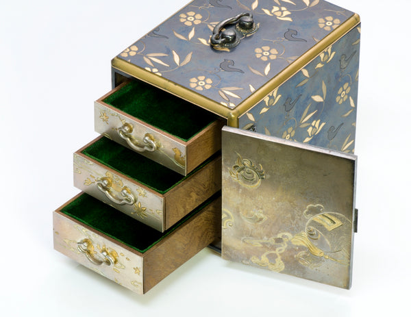 Antique Japanese Jewelry Box