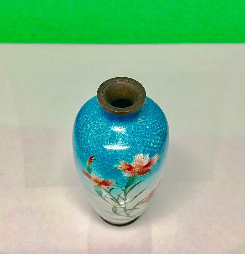 Antique Asian Cloisonne Vase