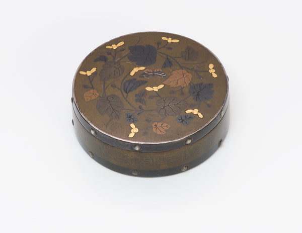 Antique Japanese Mix Metal Bronze Box