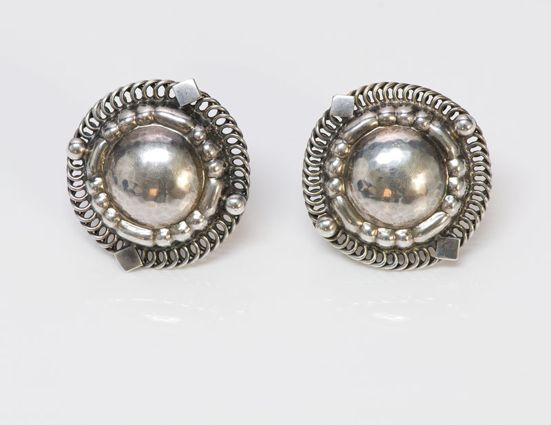 Georg Jensen Silver Earrings 85