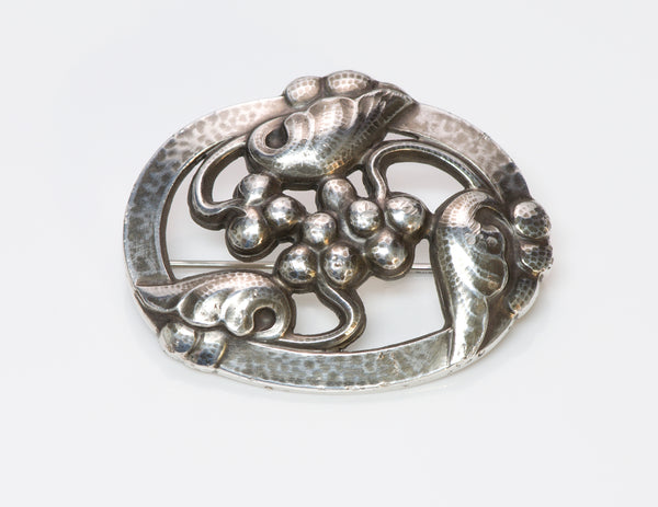 Georg Jensen Grape Brooch 101