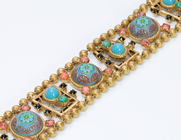 Juliana Delizza Elster Marrocan Matrix Enamel Bracelet 1