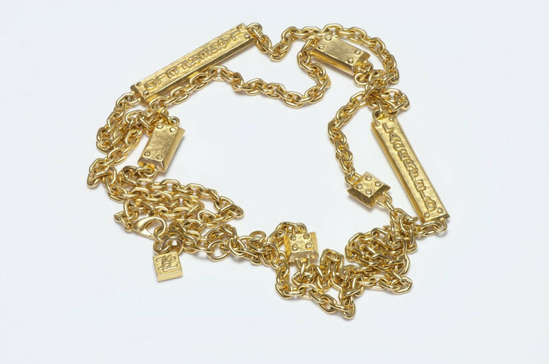 Karl Lagerfeld Chain Necklace