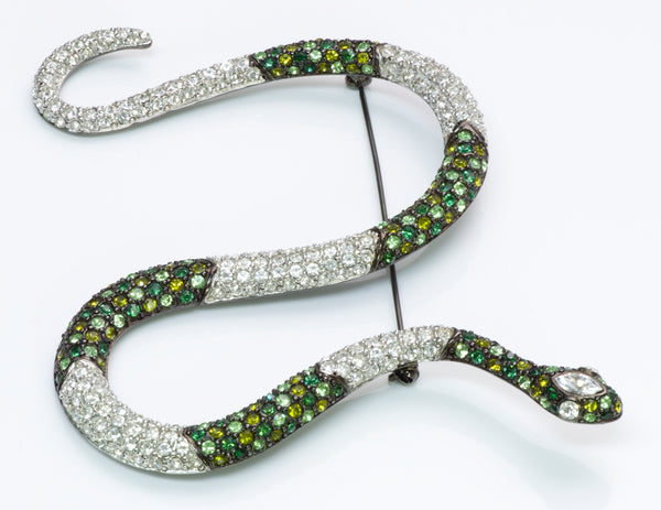 Kenneth Jay Lane Snake Brooch