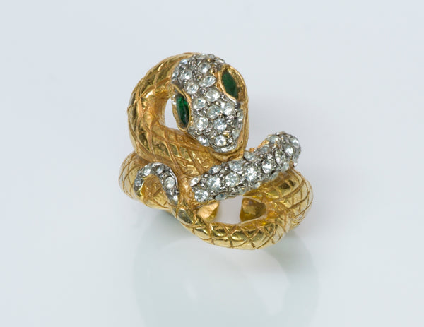 Kenneth Jay Lane Snake Ring