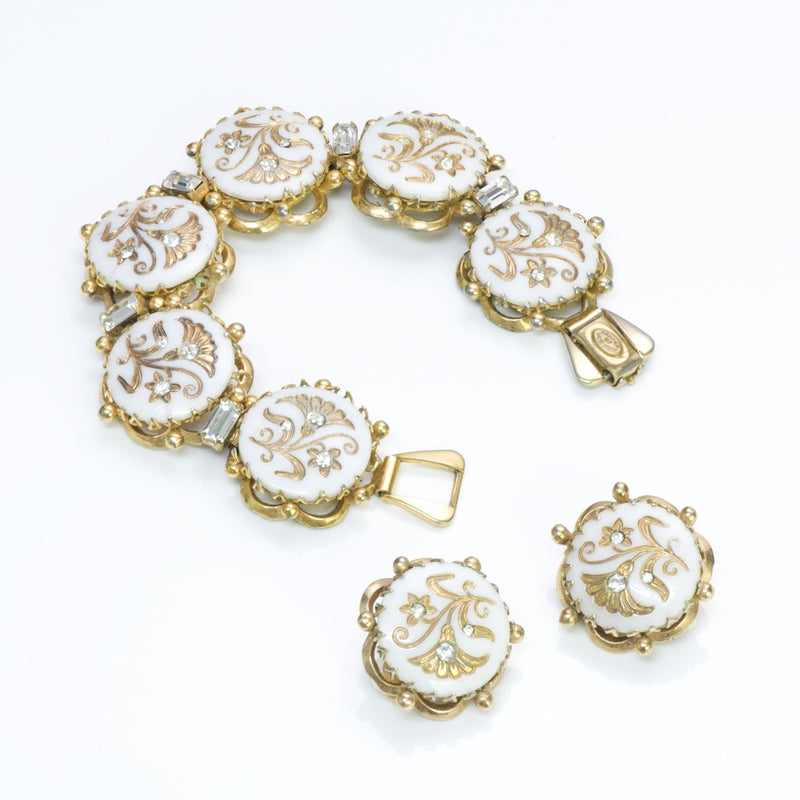 Kramer New York Bracelet Earrings Set