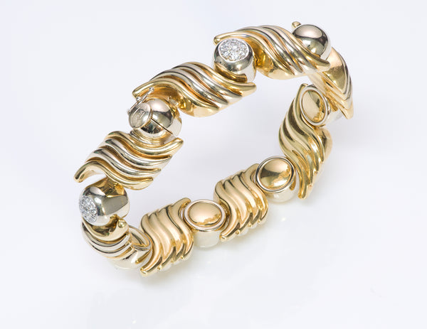 Kria 18K Gold Diamond Bracelet