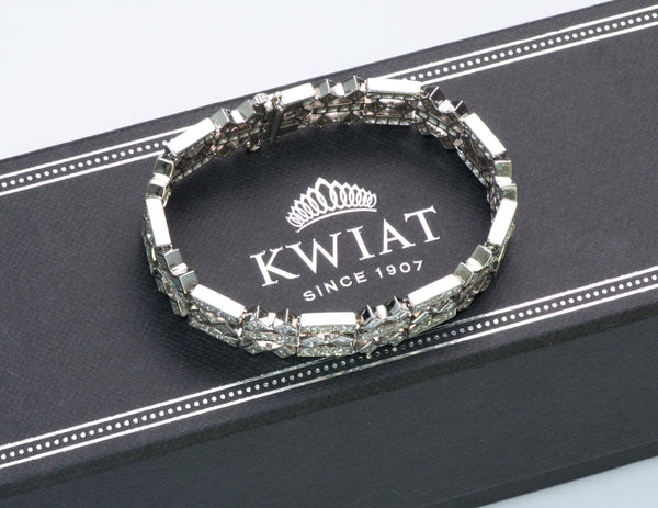 Kwiat Diamond Gold Bracelet