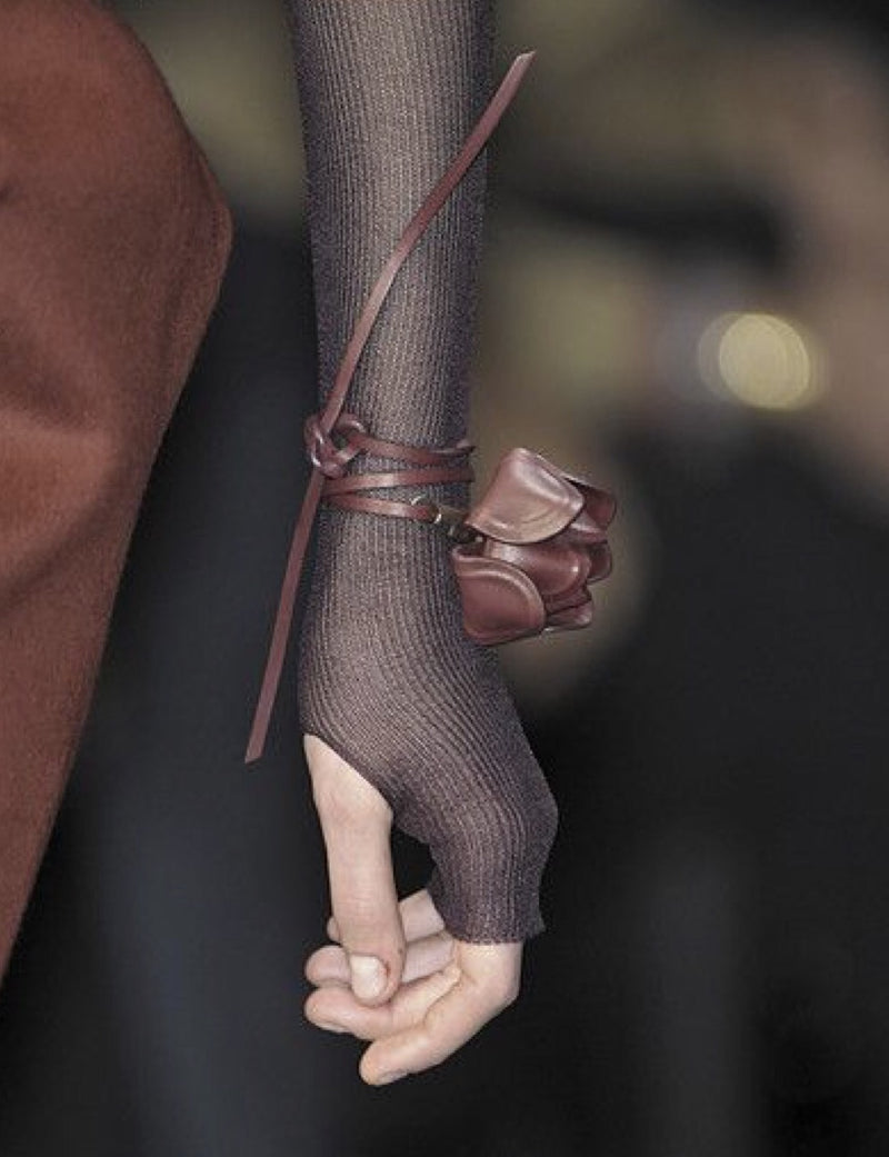 Salvatore Ferragamo Leather Tulip Bracelet